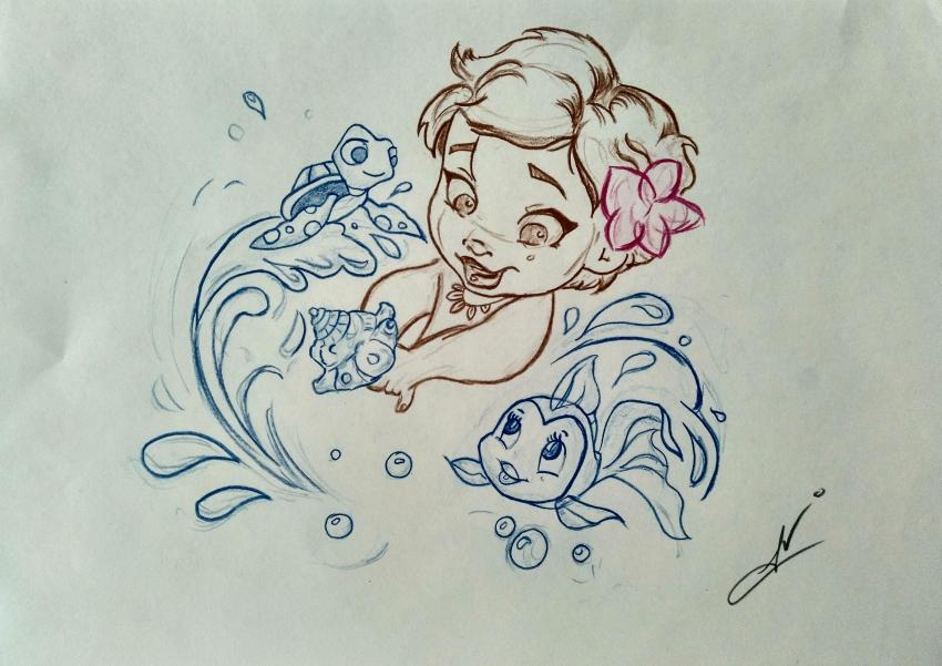 Moana (Disney) by Nereaaj